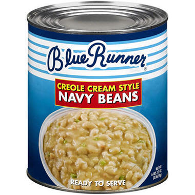 Blue Runner® Navy Beans - 108oz