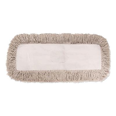 Unisan - Industrial Dust Mop Head, Hygrade Cotton, 36w x 5d -  White