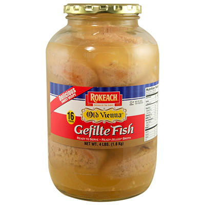 Old Vienna Gefilte Fish - 64 oz.