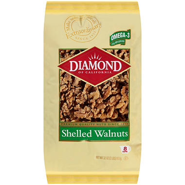 Diamond Shelled Walnuts - 32 oz.