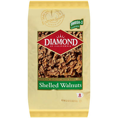 Diamond Shelled Walnuts - 32 oz.