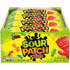Sour Patch Kids Assorted Soft & Chewy Candy (2 oz., 24 pk.)