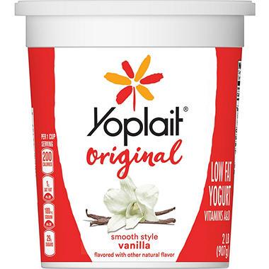 Yoplait Grande! Yogurt Fat Free Plain 32 oz.