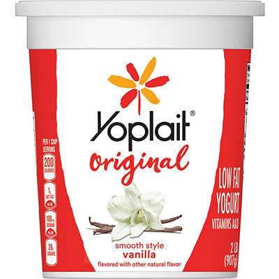 Yoplait Grande! Yogurt Fat Free Plain 32 oz.