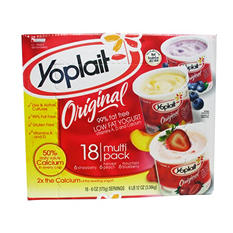 Yoplait Original Yogurt, Strawberry (6 oz. ea., 18 ct.)
