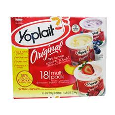 Yoplait Original Yogurt, Strawberry (6 oz. ea., 18 ct.)