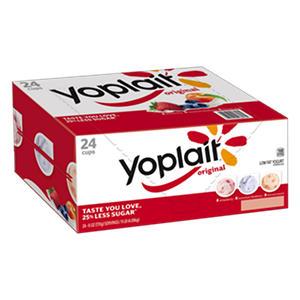 Yoplait Original Yogurt Variety Pack (6 oz. ea., 24 ct.)