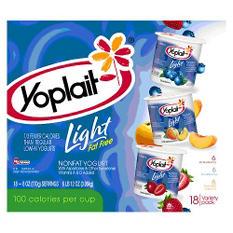 Yoplait Light Yogurt Variety Pack (6 oz. ea., 18 ct.)