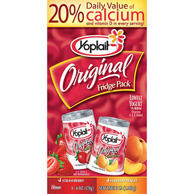 Yoplait Original Fridge Pack - 8 Pack