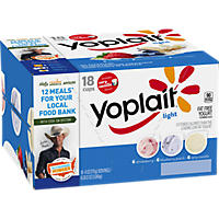 Yoplait Light Strawberry/Blueberry/Vanilla Yogurt Variety Pack (6 oz., 18 pk.)