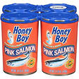 Honey Boy® Pink Salmon - 4/14.75 oz. cans