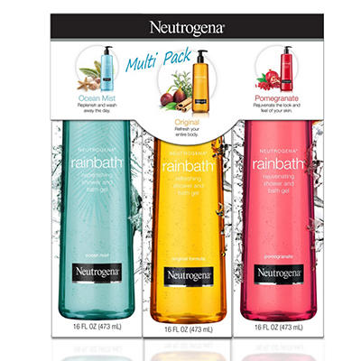 Neutrogena Rainbath Shower Gel, Multi-pack (16 fl. oz., 3 pk.)