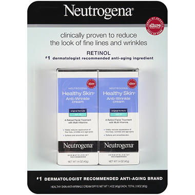 Neutrogena® Healthy Skin SPF15 Anti-Wrinkle Cream - 2 pk. - 1.4 oz.