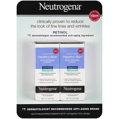 Neutrogena Healthy Skin SPF15 Anti-Wrinkle Cream - 2 pk. - 1.4 oz.
