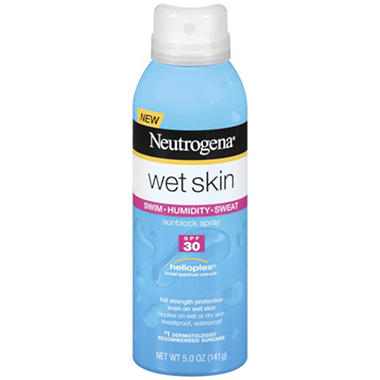 Neutrogena Wet Skin Sunblock Spray SPF 30 Bonus Pack