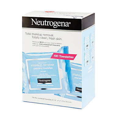 Neutrogena Makeup Remover Cleansing Towelettes - 100 ct.
