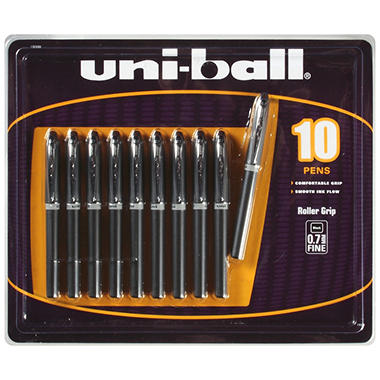 uni-ball Roller Grip Pen - 10 Pens