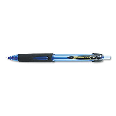 uni-ball - Power Tank RT Ballpoint Retractable Pen, Blue Ink, Bold - 12 Pack
