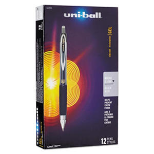 uni-ball 207 Retractable Roller Ball Gel Pens, Select Color (Micro-Fine, 12 ct.)