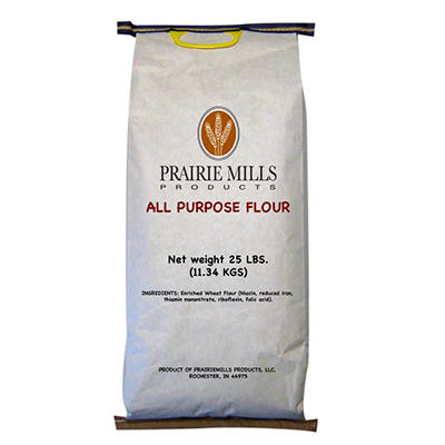 Prairie Mills All Purpose Flour - 25 lb. bag