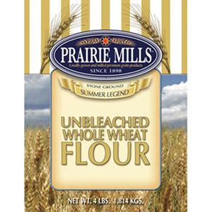 Prairie Mills Whole Wheat Flour - 6 pk. - 4 lb. each