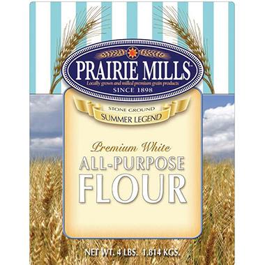 Prairie Mills All Purpose Flour - 6 pk. - 4 lb. each
