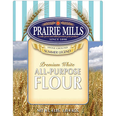 Prairie Mills All Purpose Flour - 6 pk. - 4 lb. each