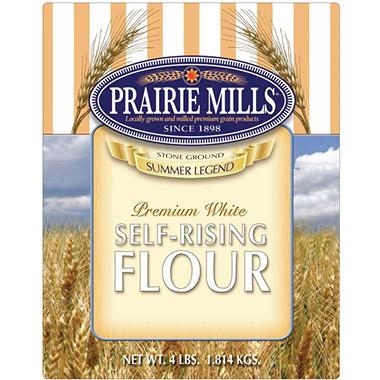 Prairie Mills Self Rising Flour - 6 pk. - 4 lb. each