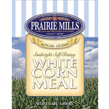 Prairie Mills Self-Rising White Corn Meal - 6 pk. - 4 lb. each