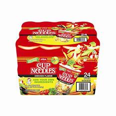 Nissin Cup Noodles Chicken Flavor (2.25 oz., 24 pk.)