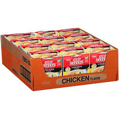 Nissin Chicken Cup Noodles - 2.25 oz. - 12 pk.