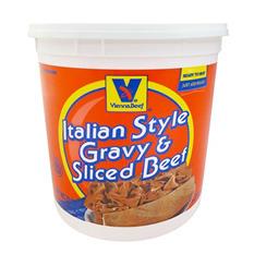 Vienna Italian Style Gravy & Sliced Beef (4.5 lb.)