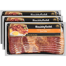 Smithfield® Naturally Hickory Smoked Bacon - 3 lb.