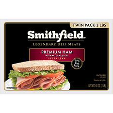 Smithfield Premium Ham Lunch Meat (3 lb.)