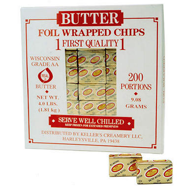 Mid America Farms 50 Cut Continental Butter Chips