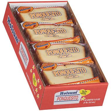Holsum® Ponquesito Pound Cake - 12 ct.