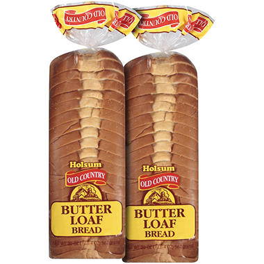 Holsum® Old Country Butter Loaf Bread - 2/20 oz.