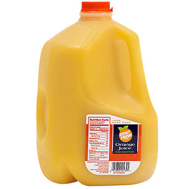 Dairy Fresh 100% Pure Orange Juice Pasteurized from Concentrate - 1 gal.