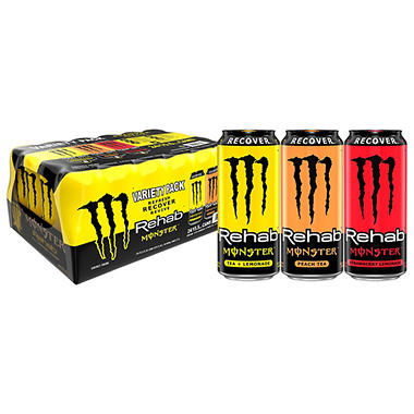 Monster Rehab - 15.5 oz. Cans - 24 pk.