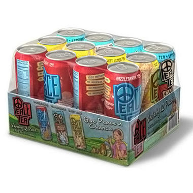 Peace Tea Variety Pack - 23 oz. cans - 12 pk.