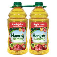 Hansen's 100% Apple Juice - 96 oz. - 2 ct.