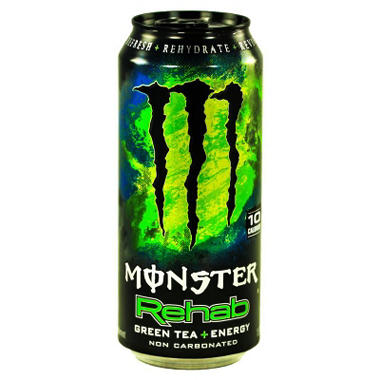 Monster Rehab Green Tea + Energy - 15.5 oz. can - 24 pk.