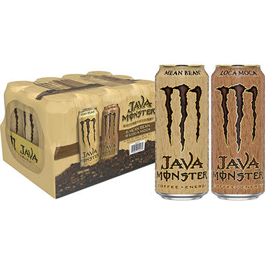 Monster Java - Variety Pack - 15 oz. cans - 12 pk.