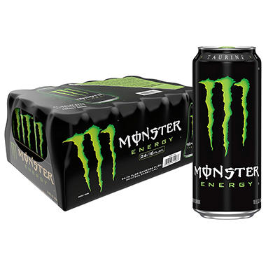 Monster Energy Drink (16 oz. cans, 24 pk.)