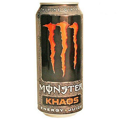 Monster Khaos Energy + Juice (16 oz., 24 pk.)