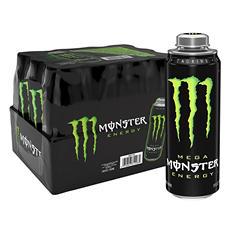 Mega Monster Energy (24 oz. can, 12 pk.)