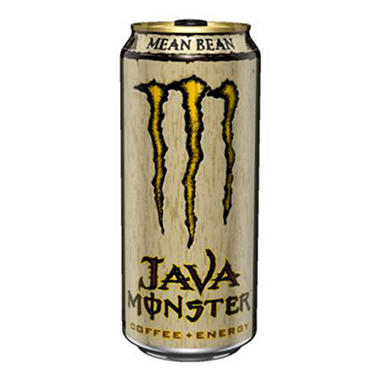 Java Monster Mean Bean - 15 oz. cans - 12 pk.