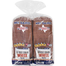 Mrs Baird's Whole Grain White Bread - 20 oz. Loaf - 2 pk.