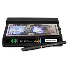 Dri-Mark - Tri Test Counterfeit Bill Detector, UV with Pen -  7 x 4 x 2 1/2