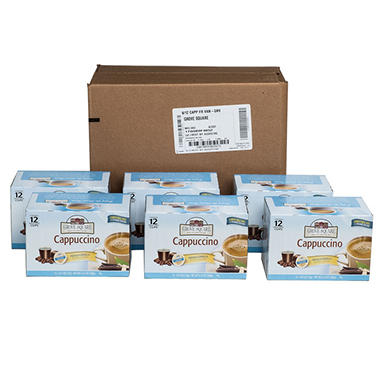 Grove Square French Vanilla Cappuccino Individual Cups - 72 ct.